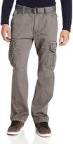 UNIONBAY Men's Cotton Twill Survivor Cargo Pant, Belt, 36x30
