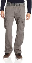 UNIONBAY Men's Cotton Twill Survivor Cargo Pant, Belt, 38x32