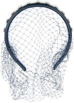 RED Valentino studded veil headband