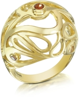 Sho London Gold Vermeil Mari Splash Boule Ring