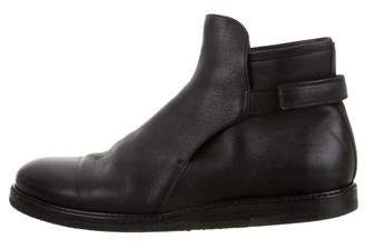 Christian Dior Leather Ankle Boots