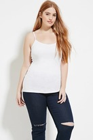 Forever 21 FOREVER 21+ Plus Size Cotton-Blend Cami