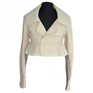 Limi Feu Ecru Wool Jacket for Women