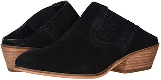Frye Rubie Mule (Black Suede) Women's Shoes