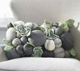 Felted Stone Lumbar Pillow