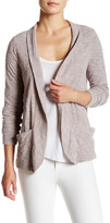 Three Dots Double Sided Long Sleeve Cardigan