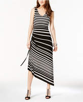 INC International Concepts I.n.c. Petite Side-Ruched Maxi Dress, Created for Macy's