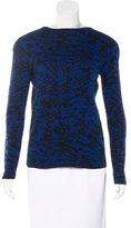Veronica Beard Patterned Wool Sweater