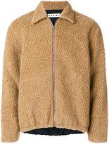 Marni shearling bomber jacket