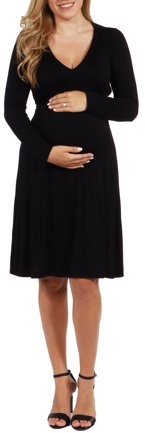 Julie Maternity Dress-- available in Plus sizes