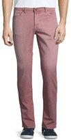 J Brand Tyler Slim-Straight Jeans, Thrashed Radish