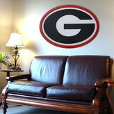 Georgia Bulldogs 46-inch Carved Wall Art