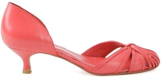 Sarah Chofakian Low-Heel Pumps