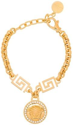 Versace chain-link Medusa charm bracelet