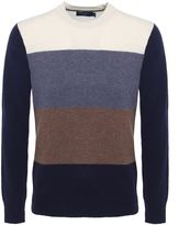 Paul Smith Jeans Lambswool Striped Jumper