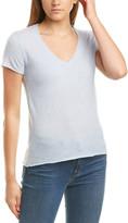 ATM Anthony Thomas Melillo Short Sleeve Cashmere Sweater