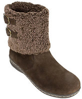 White Mountain Suede Leather Winter Boots - Frosted
