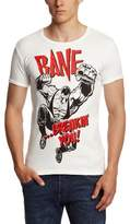Logoshirt Slim Fit Batman-Bane Logo T-Shirt