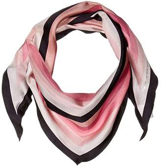 Kate Spade Stripe Diamond Scarf (Neutral) Scarves