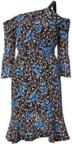 Saloni off-shoulder printed dress