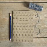STUDY Oh Squirrel 'Big Plans And Adventures' Notebook