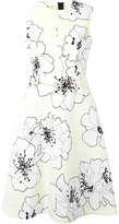 Marni floral flared dress