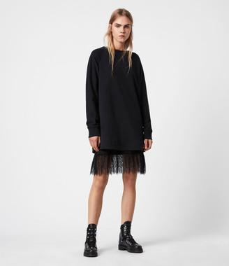 AllSaints Lee Lace Dress