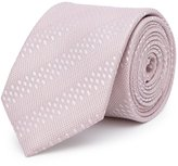 Reiss Shaw - Tonal Stripe Silk Tie in Pink, Mens