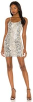 Thumbnail for your product : Alice + Olivia Nelle Vegan Leather Fitted Mini Dress