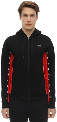 Lacoste Cotton Blend Sweatshirt Hoodie