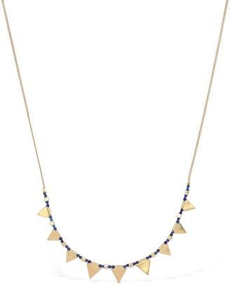 Isabel Marant Rocio Necklace W/ Lapis Lazuli Beads