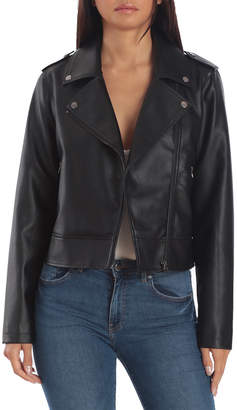 Bagatelle Faux Leather Biker