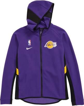 Nike NBA Los Angeles Lakers Dry Zip-Up Hoodie