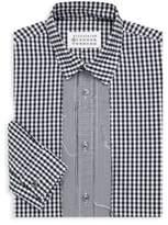 Maison Margiela Overdyed Check Button-Down Shirt