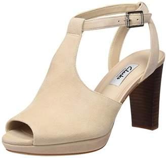 Clarks Kendra Charm, Women's Ankle Strap Pumps,(39.5 EU)