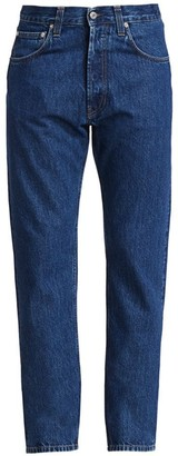 Helmut Lang High-Rise Straight Jeans