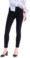 J.Crew Women's Pull-On Toothpick Black Skinny Jeans