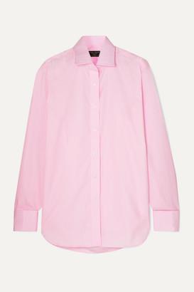 Emma Willis Jermyn Street Cotton-poplin Shirt - Pink