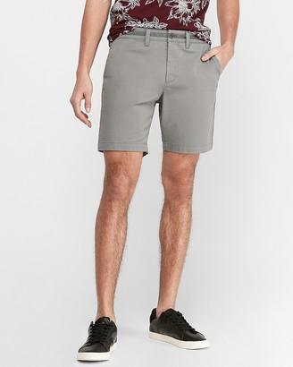 "Express 8"" 365 Comfort Hyper Stretch Shorts"