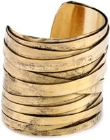 Gold Wire Cuff Bracelet