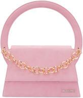 Jacquemus Pink le Sac Rond Bag