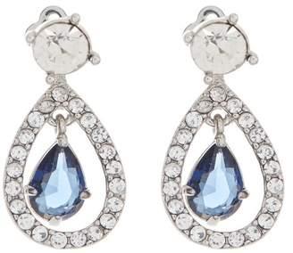 Carolee Pave Crystal & Stone Teardrop Earrings