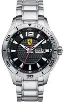 Ferrari Men's 0830094 Silver Stainless-Steel Analog Quartz Watch