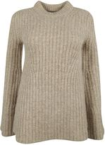 Theory Ribbed Neck Sweater