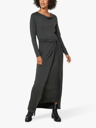 Mint Velvet Jersey Twisted Waist Midi Dress