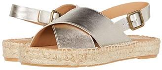 Soludos Eloise Espadrille Sandal (Platinum) Women's Shoes