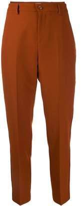 Altea high-waist straight-leg trousers