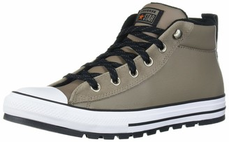Converse Chuck Taylor All Star Leather Street Mid Top Sneaker