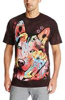 The Mountain Russo Siberian Husky T-Shirt