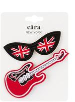 Cara Accessories British Lenses & Guitar Pin - Set of 2